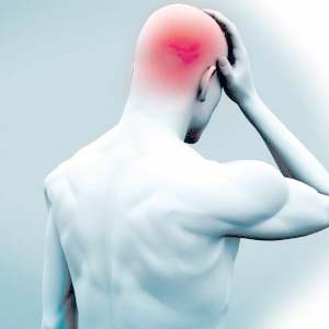 头痛部位图