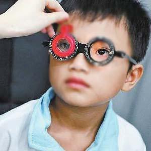 儿童近视眼图片4